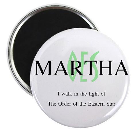 Martha OES Magnet