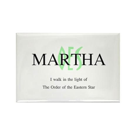 Martha OES Rectangle Magnet