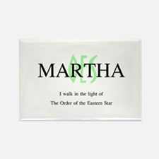 Martha OES Rectangle Magnet