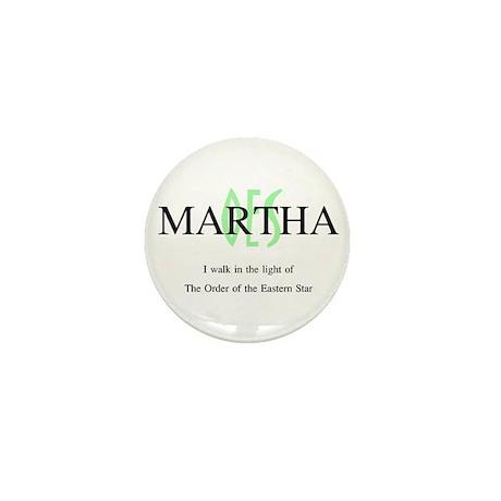 Martha OES Mini Button