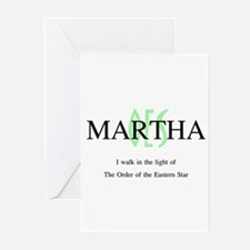 Martha OES Greeting Cards (Pk of 10)
