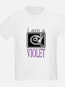Violet Baudelaire Kids T-Shirt