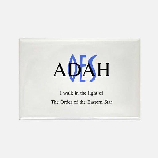 OES Adah '06-'07 Rectangle Magnet