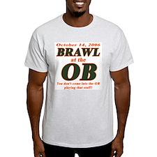 Brawl at the OB Ash Grey T-Shirt