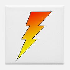 The Lightning Bolt 5 Shop Tile Coaster
