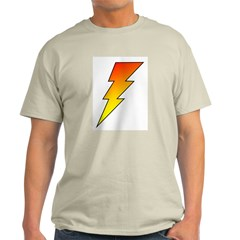 The Lightning Bolt 5 Shop Ash Grey T-Shirt