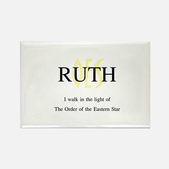 OES Ruth '06-'07 Rectangle Magnet