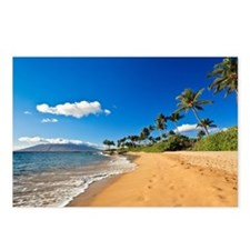 Beach in Wailea, Maui Postcards (Package of 8)