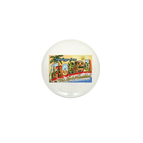 Florida Greetings Mini Button