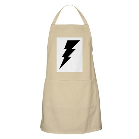The Lightning Bolt 6 Shop BBQ Apron