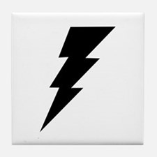 The Lightning Bolt 6 Shop Tile Coaster