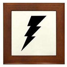 The Lightning Bolt 6 Shop Framed Tile