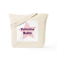 Valentina Rules Tote Bag