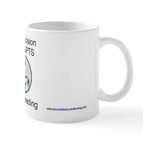 """C DISRUPTS BF"" (clad) Mug"