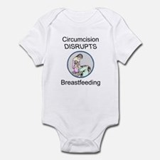 """C DISRUPTS BF"" (clad) Infant Bodysuit"