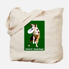 Catch It! Red Merle Tote Bag