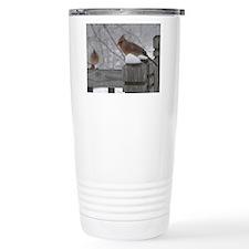 Northern Cardinal Females Travel Mug