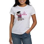 I Love Poodles Women's T-Shirt