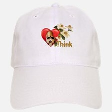 Think Skull Baseball Baseball Cap