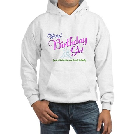 Birthday Girl 02 Hooded Sweatshirt