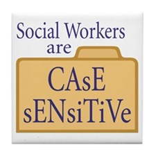 Social Workers  Tile Coaster