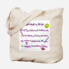 Birthday Poem 01 Tote Bag