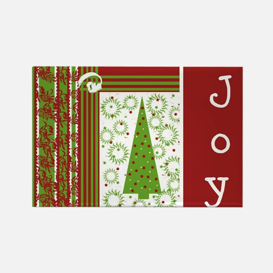 Holiday Joy Rectangle Magnet