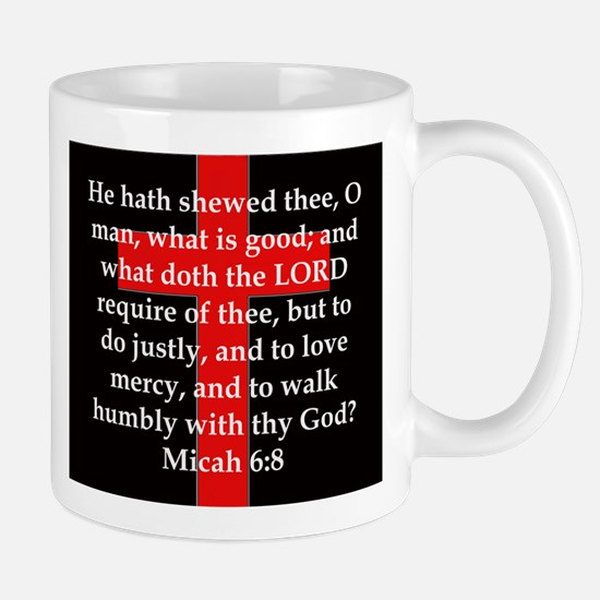 Micah 6-8 Mug