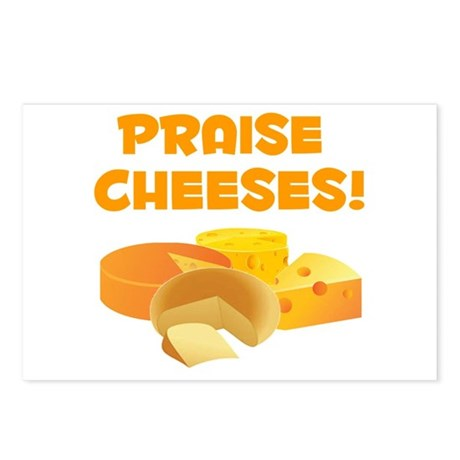 Praise Cheeses! Postcards (Package of 8)
