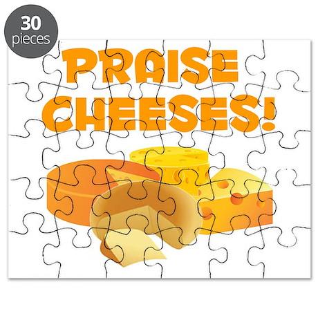 Praise Cheeses! Puzzle