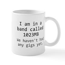 1023MB Band Small Mug