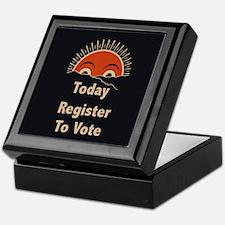 Today Register To Vote Keepsake Box