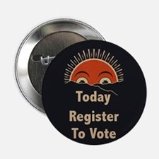 """Today Register To Vote 2.25"""" Button (10 pack)"""