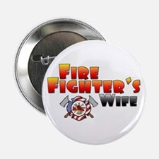 Fire Fighter's Wife Button
