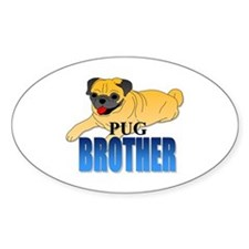 Fawn Pug Brother Decal