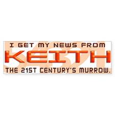 Keith Bumper Bumper Sticker