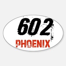 602 Oval Decal