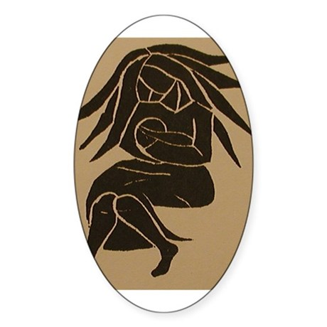 babylove Oval Sticker