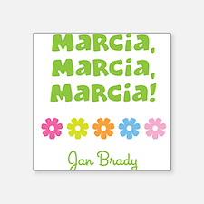 Marcia, Marcia, Marcia! Sticker