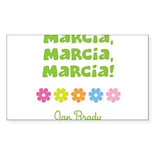 Marcia, Marcia, Marcia! Decal