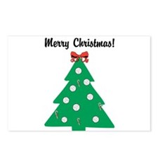 Volleyball Christmas! Postcards (Package of 8)