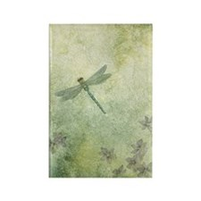 StephanieAM Dragonfly Rectangle Magnet