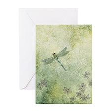 StephanieAM Dragonfly Greeting Card