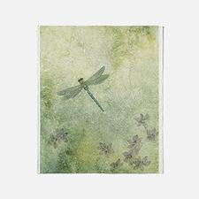 StephanieAM Dragonfly Throw Blanket