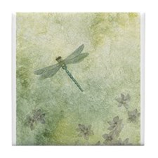 StephanieAM Dragonfly Tile Coaster