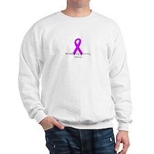 Breastfeeding Advocacy Ribbon Sweatshirt