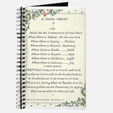 st. francis/pope francis A Simple Prayer PEACE Jou