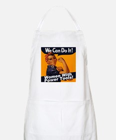 Women with Power Tools BBQ Apron