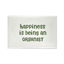 Happiness is being an ORGANIS Rectangle Magnet (10