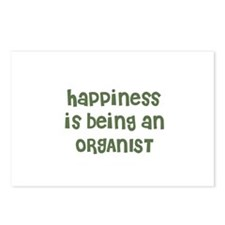 Happiness is being an ORGANIS Postcards (Package o